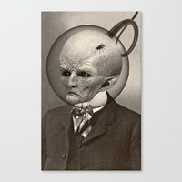 earthbound Canvas Prints featuring EARTHBOUND MISFIT by Julia Lillard Art