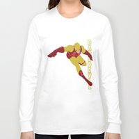 daredevil Long Sleeve T-shirts featuring Daredevil by Young Jake