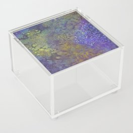 Abstract Watercolor #3 Acrylic Box