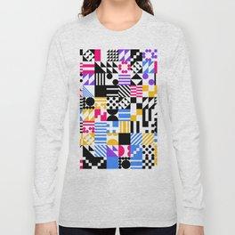 RAND PATTERNS #30: Procedural Art Long Sleeve T-shirt