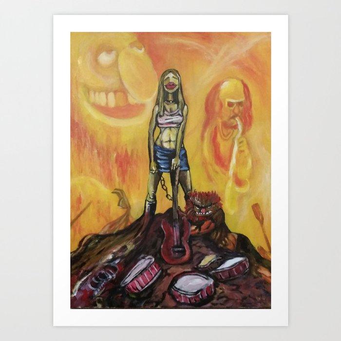 Mayhem Art Print