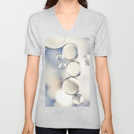 pearlescent water droplets Unisex V-Neck