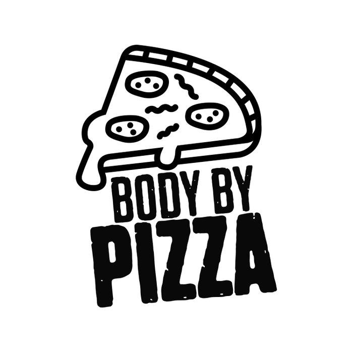 Body Pizza Duvet Cover