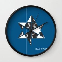 Halcyon II Wall Clock
