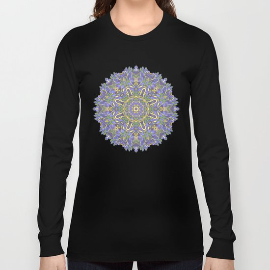 Mandala (Iris) Long Sleeve T-shirt