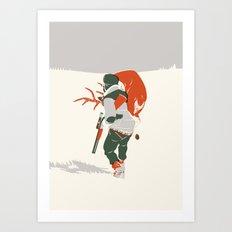 Bringing Back The Kill Art Print