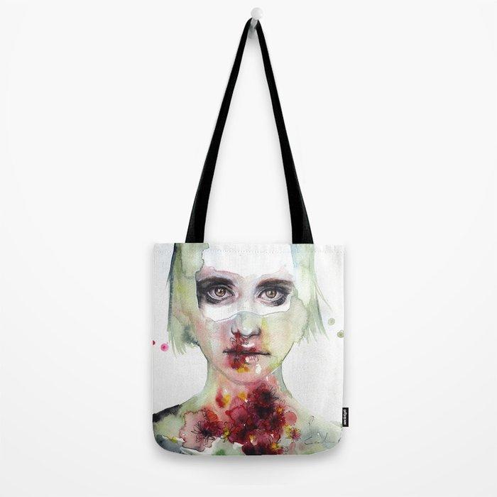 keeping inside this wild flowering Tote Bag