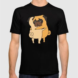 Pug Hugs T-shirt
