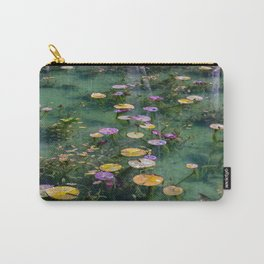 Monet Pond Carry-All Pouch