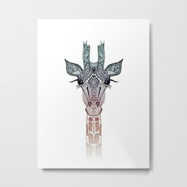 Beautiful Jiraffe Metal Print