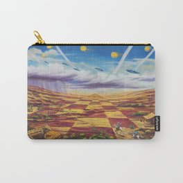 Western Checkerboard Dream Carry-All Pouch