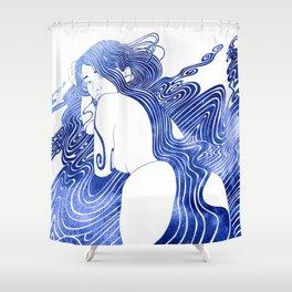 Halimede Shower Curtain