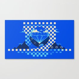 Chaos Emerald Canvas Print