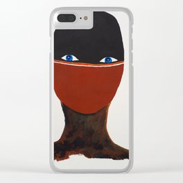 speechless Clear iPhone Case