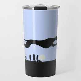 Whippet Dawn Travel Mug