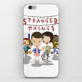 STRANGER THINGSS iPhone Skin