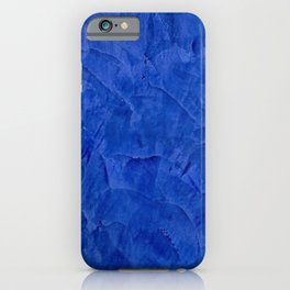 Pretty Blue Cases - Ombre - Stucco - Pillow - iPhone - Shower Curtains iPhone Case