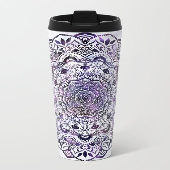 STARLIGHT MANDALA Metal Travel Mug
