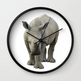 Baby Rhino Wall Clock