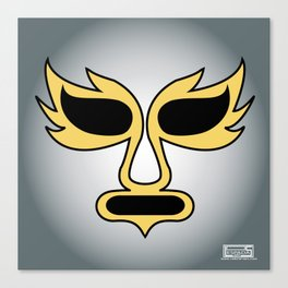 Mask of the Silver Angel Canvas Print