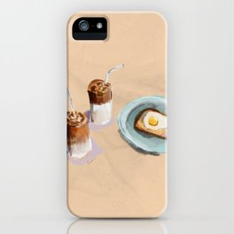 Iced coffee  iPhone Case