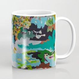 Four Bodies Flexing Coffee Mug
