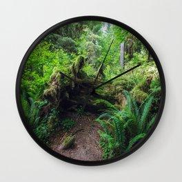 Hoh Rain Forest Wall Clock