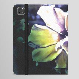 Sun Rays On The Hibiscus Flower iPad Folio Case