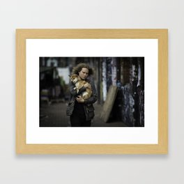 People of Shoreditch #1 Framed Art Print