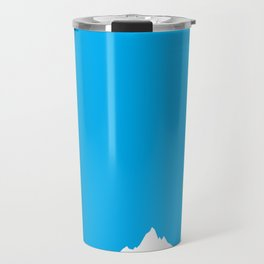 Mountain Sky Day Travel Mug