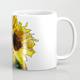 Sunflower In Mason Jar Coffee Mug