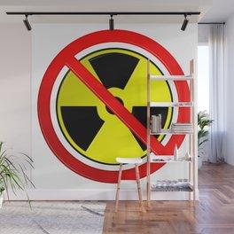 No Nuclear Symbol Wall Mural