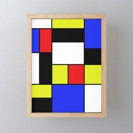 Mondrian #20 Framed Mini Art Print