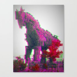 Trojan Horse Canvas Print