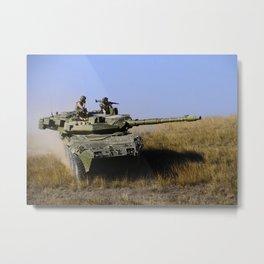 M1128 MGS Stryker Metal Print