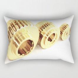 Bronze wormwheels Rectangular Pillow