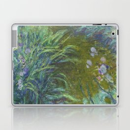 Irises by Claude Monet Laptop & iPad Skin