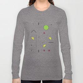 Geometric Storm: Take 7 Long Sleeve T-shirt