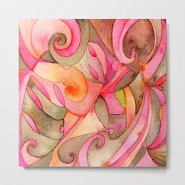 Color de Rosa Metal Print