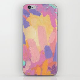 Lilac and Pink iPhone Skin