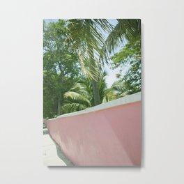 Bahama Pink Metal Print