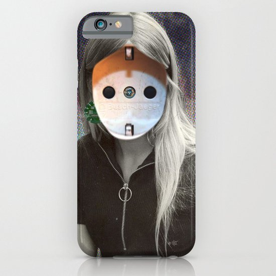 Plug & Play Woman - Model: Busch Jaeger iPhone & iPod Case