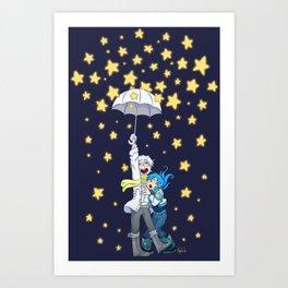DMMd :: The stars are falling Art Print