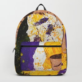 """I BLEED PURPLE AND GOLD"" Backpack"