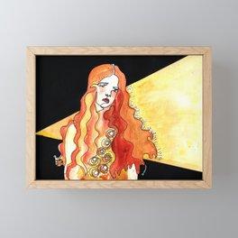 Brave Love Framed Mini Art Print