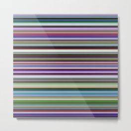Stripes of Color Metal Print