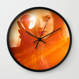 Searching for the way forward Wall Clock