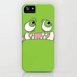Little Green Monster iPhone Case