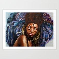 Wodaabe Art Print