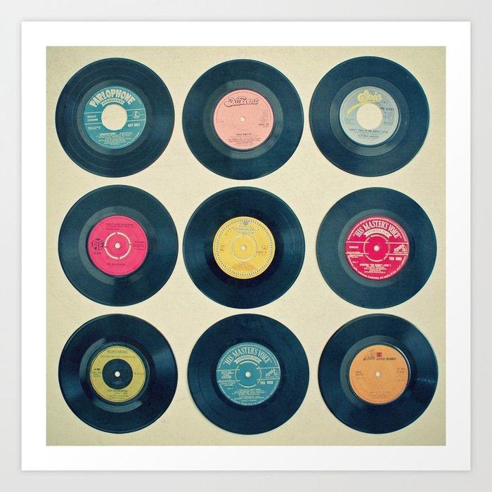 Vinyl Collection Kunstdrucke